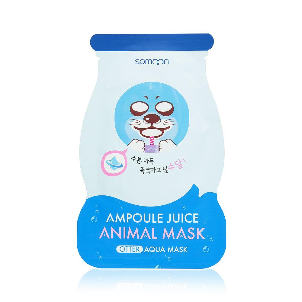Купить Ампульная маска для лица SCINIC с морским коллагеном, Ampoule Jice Animal Mask Otter, 25мл, SCINIC_07