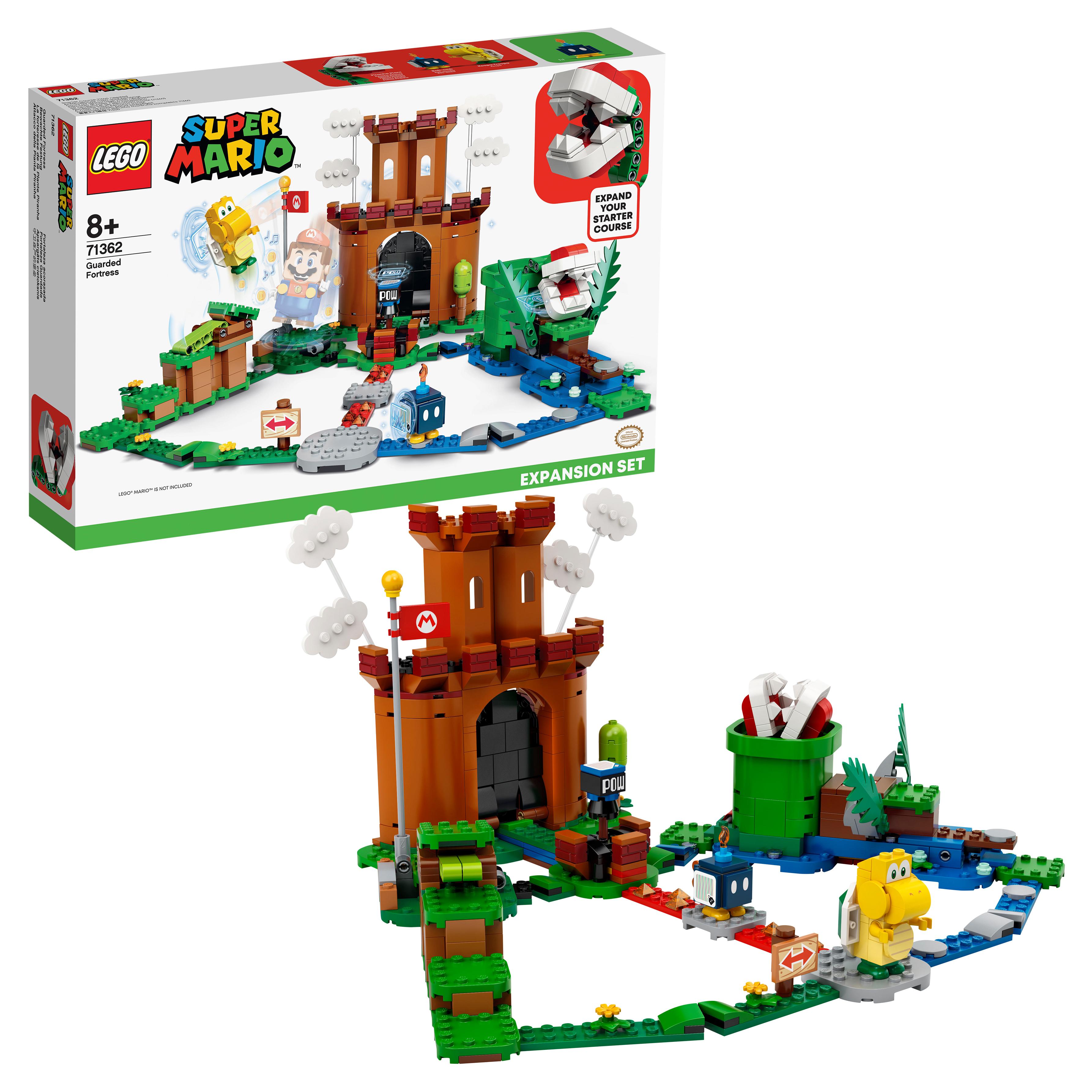 Конструктор LEGO Super Mario 71362 Охраняемая крепость Дополнительный набор