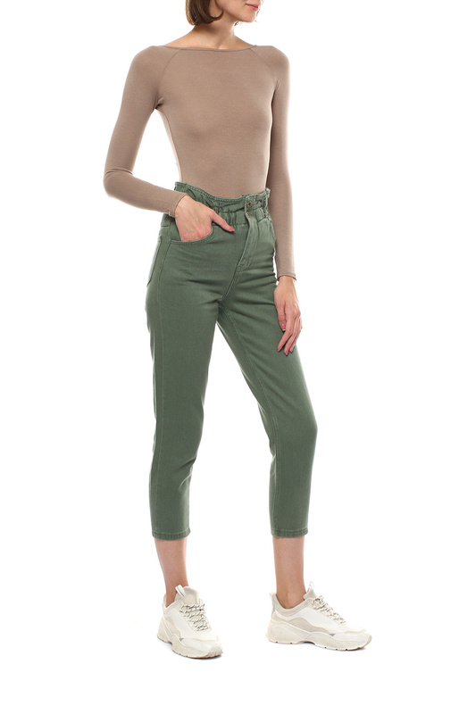 Блуза-боди женская MONDIGO 3525 коричневая 46