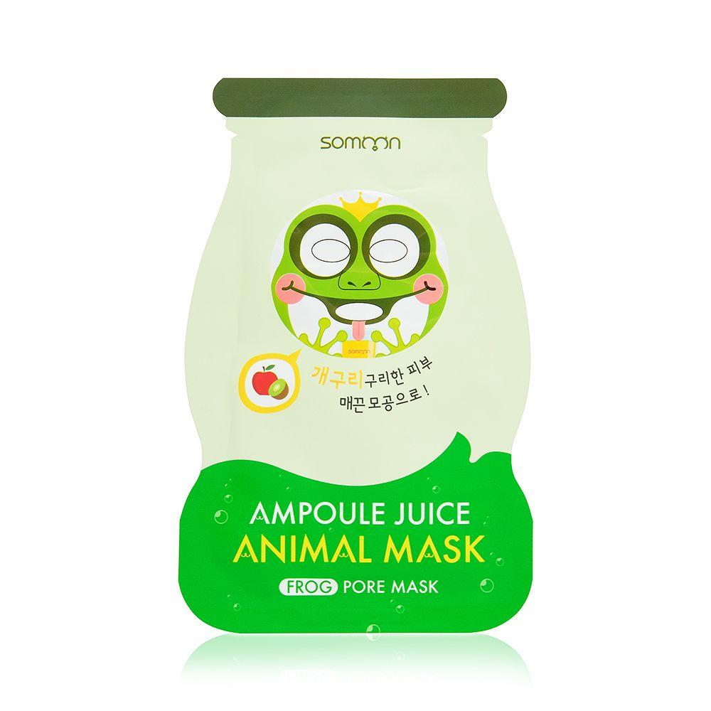 Купить Ампульная маска для жирной кожи лица SCINIC, Ampoule Juice Animal Mask (Frog), 25мл, SCINIC_08