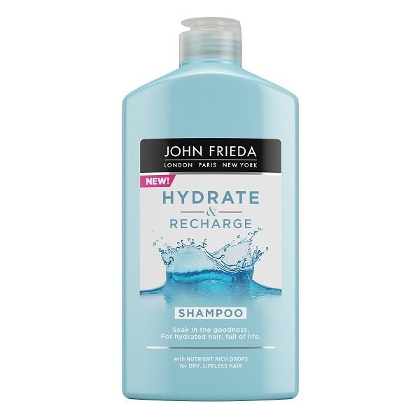 Купить Шампунь John Frieda Hydrate & Recharge увлажняющий для сухих волос, 250 мл, шампунь Hydrate & Recharge увлажняющий для сухих волос
