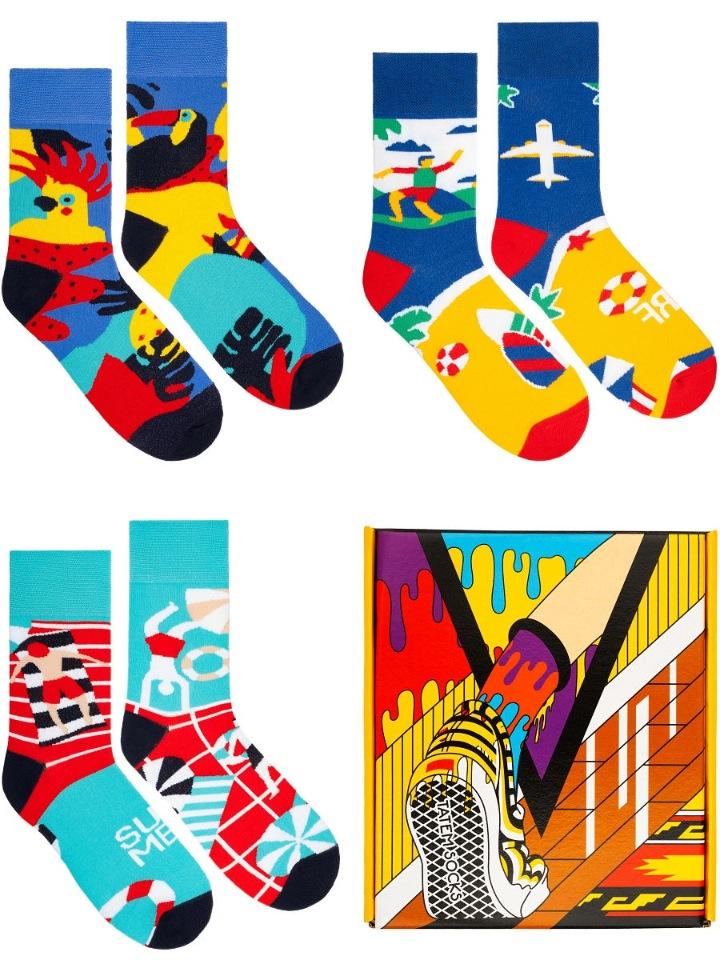 Подарочный набор носков мужской Tatem Socks 800 разноцветный 36-40