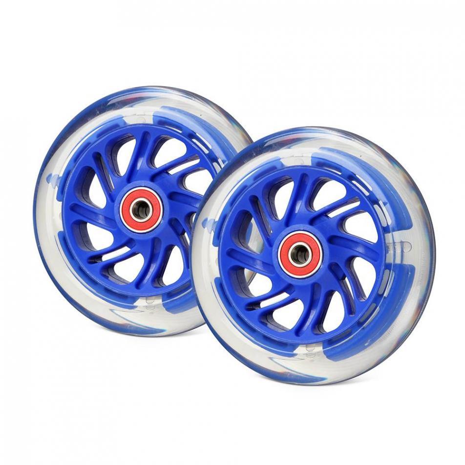 Светящиеся колеса передние 120 мм (2 шт.)