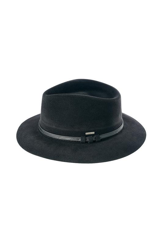 Шляпа мужская Pierre Cardin CHRISTIAN PC-005-1320 черная L