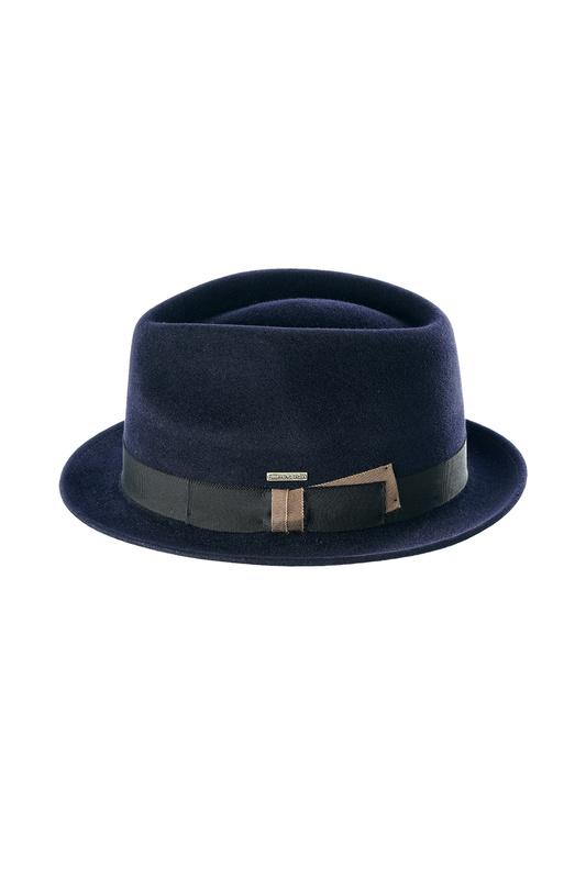 Шляпа мужская Pierre Cardin YANN PC-004-1303 синяя XL