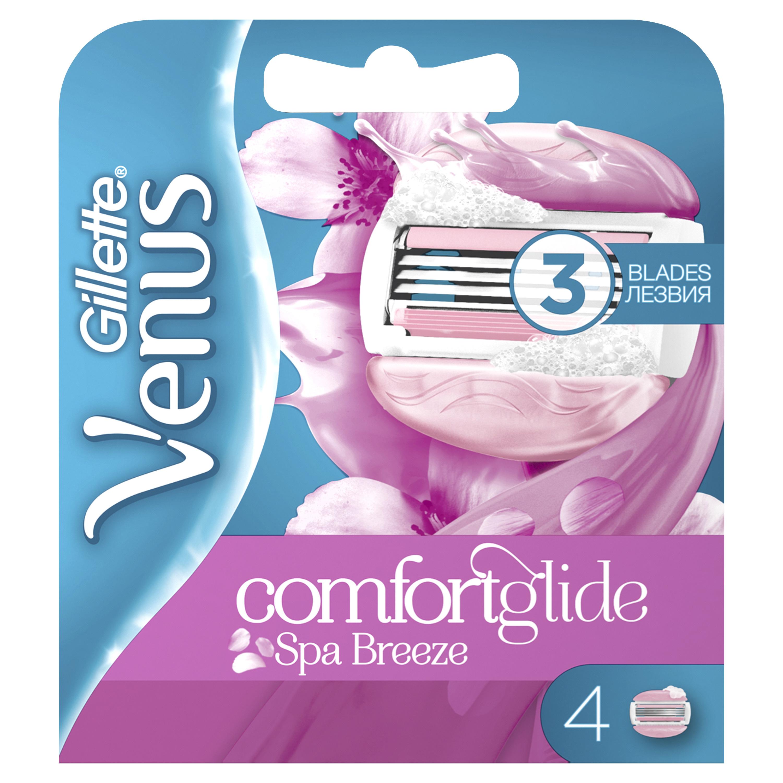 Сменные кассеты Gillette Venus Breeze SPA