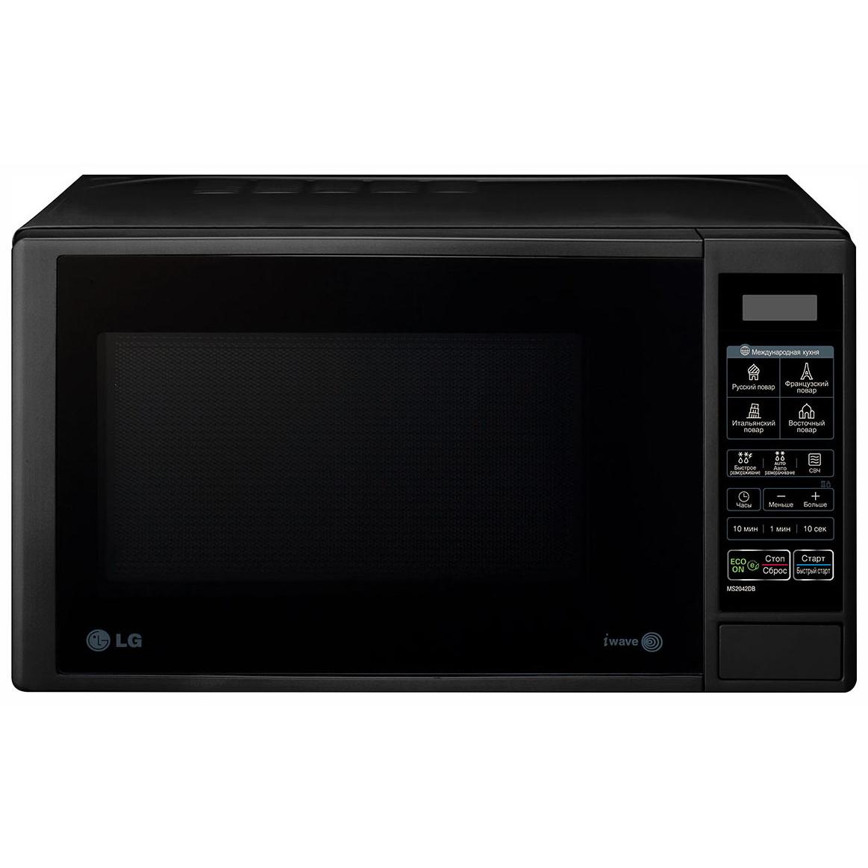 Микроволновая печь соло LG MS2042DB Black фото