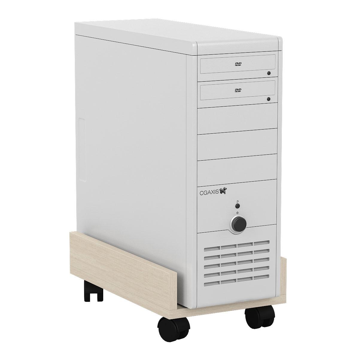 Подставка под системный блок Мебельный Двор 4-02 дуб 27х45х15 фото