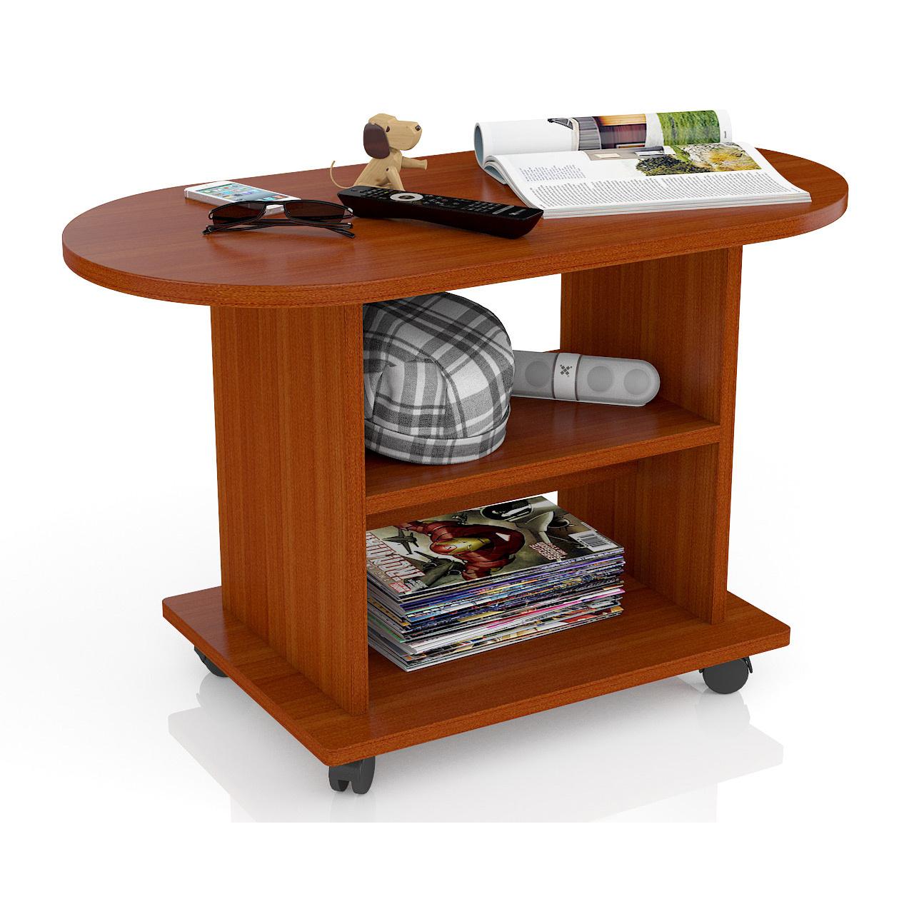 Журнальный столик Мебельный Двор МД-СЖ-1 82х42х52 см, яблоня фото