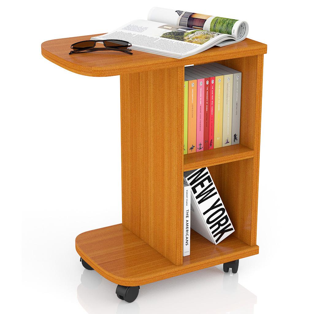 Журнальный столик Мебельный Двор МД-СЖ-3 47х30х60 см, вишня фото