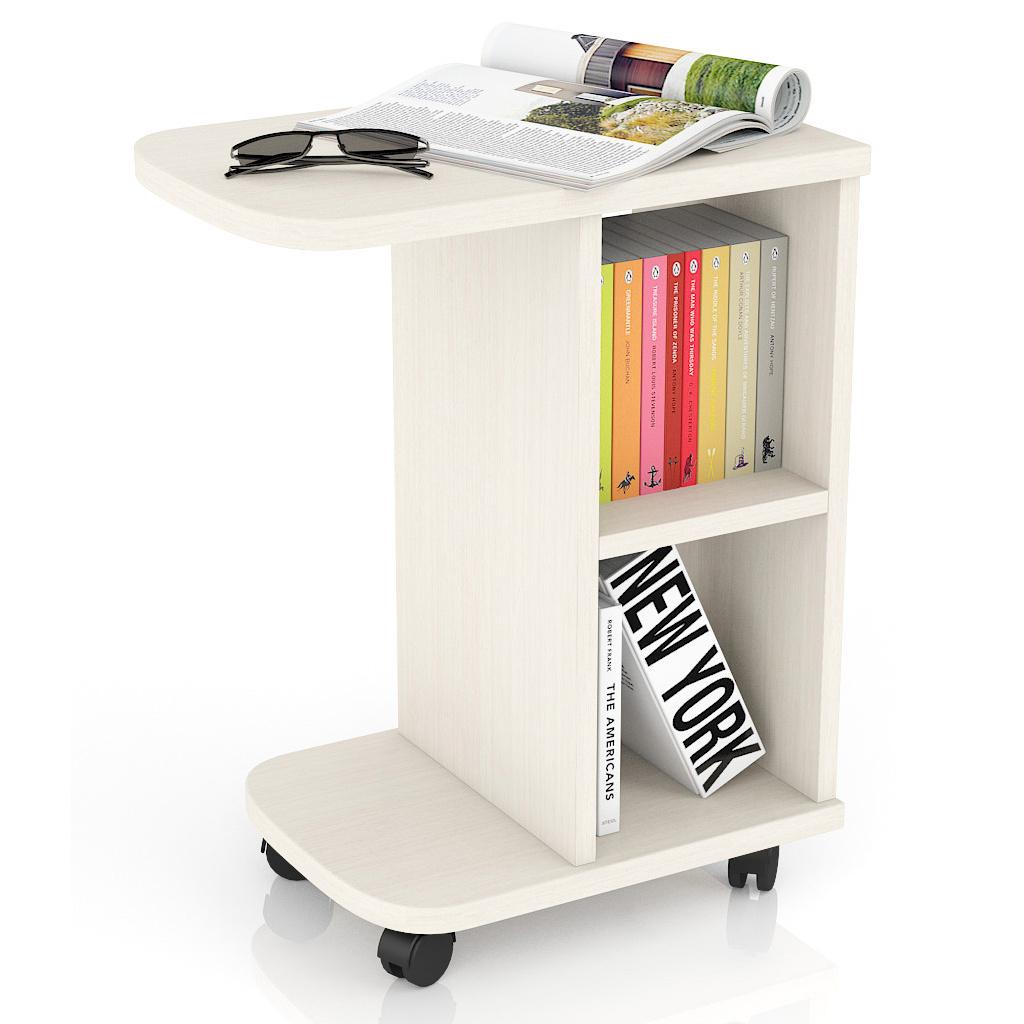 Журнальный столик Мебельный Двор МД-СЖ-3 47х30х60 см, дуб фото