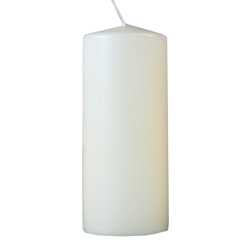 Свеча столбик, 170*70 мм, слоновая кость 079717