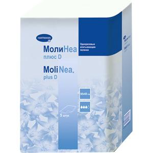 Впитывающие пеленки MoliNea plus D 60