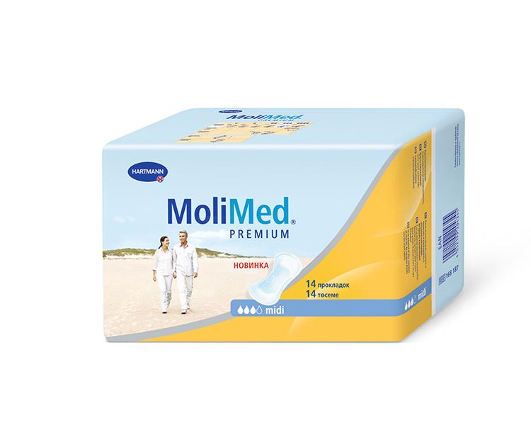 Купить Урологические прокладки Molimed Premium midi 14 шт.