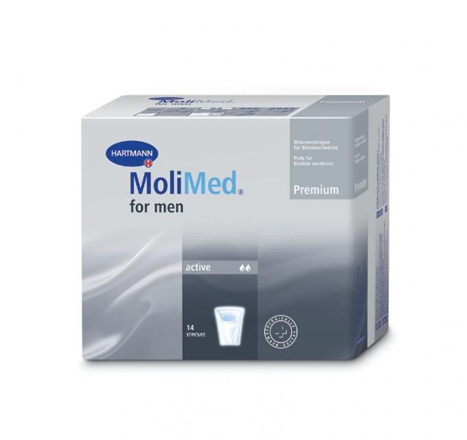 Урологические прокладки Molimed Premium for men active