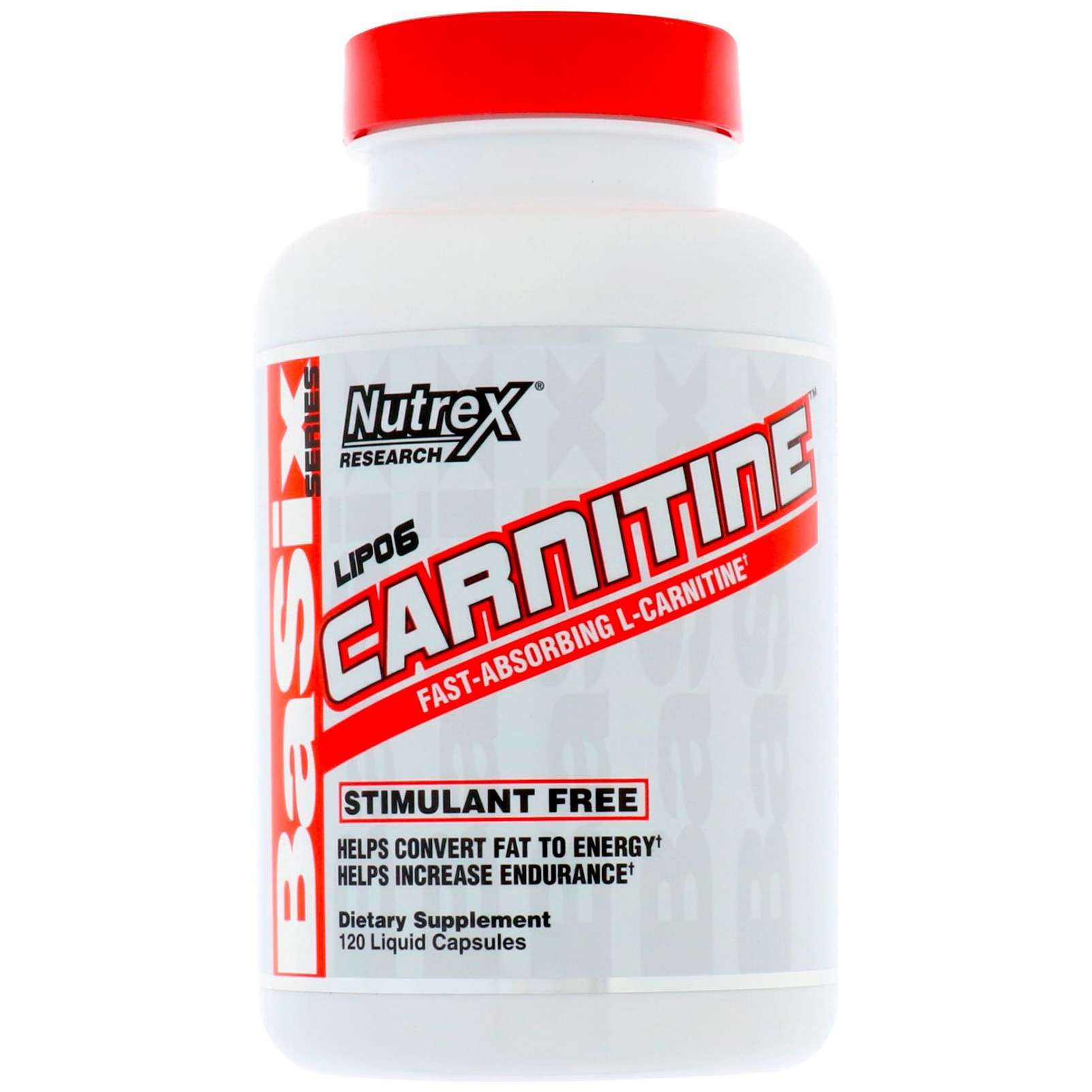 Nutrex Lipo 6 Carnitine, 120 капсул