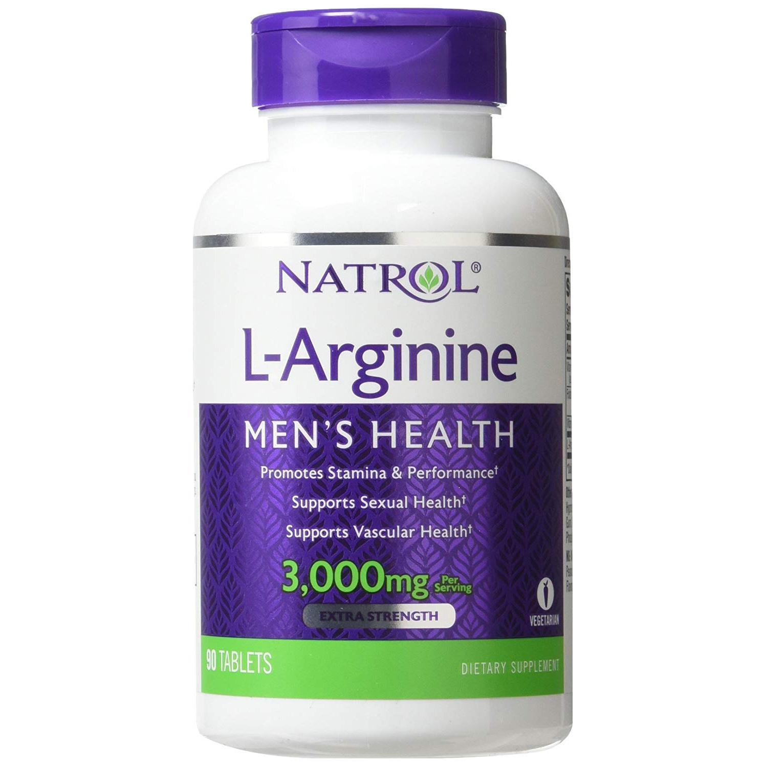 Natrol L Arginine 90 таблеток без вкуса