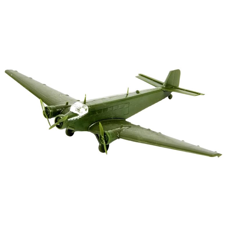 Купить Модели для сборки Zvezda 6139 немецкий транспортный самолет ЮНКЕРС Ju-52 1932-1945,