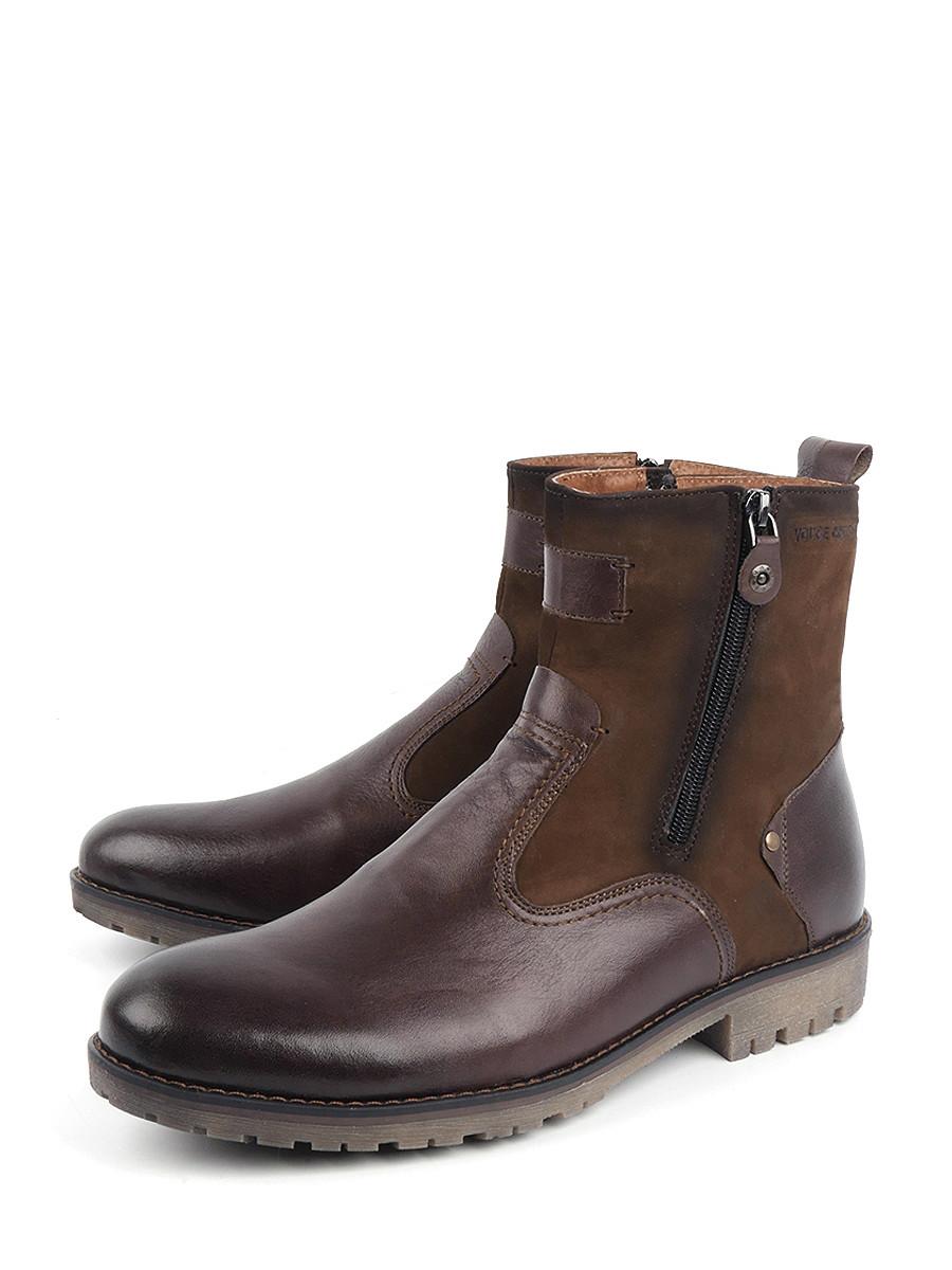 Сапоги мужские Longfield 11787633 коричневые 42 RU