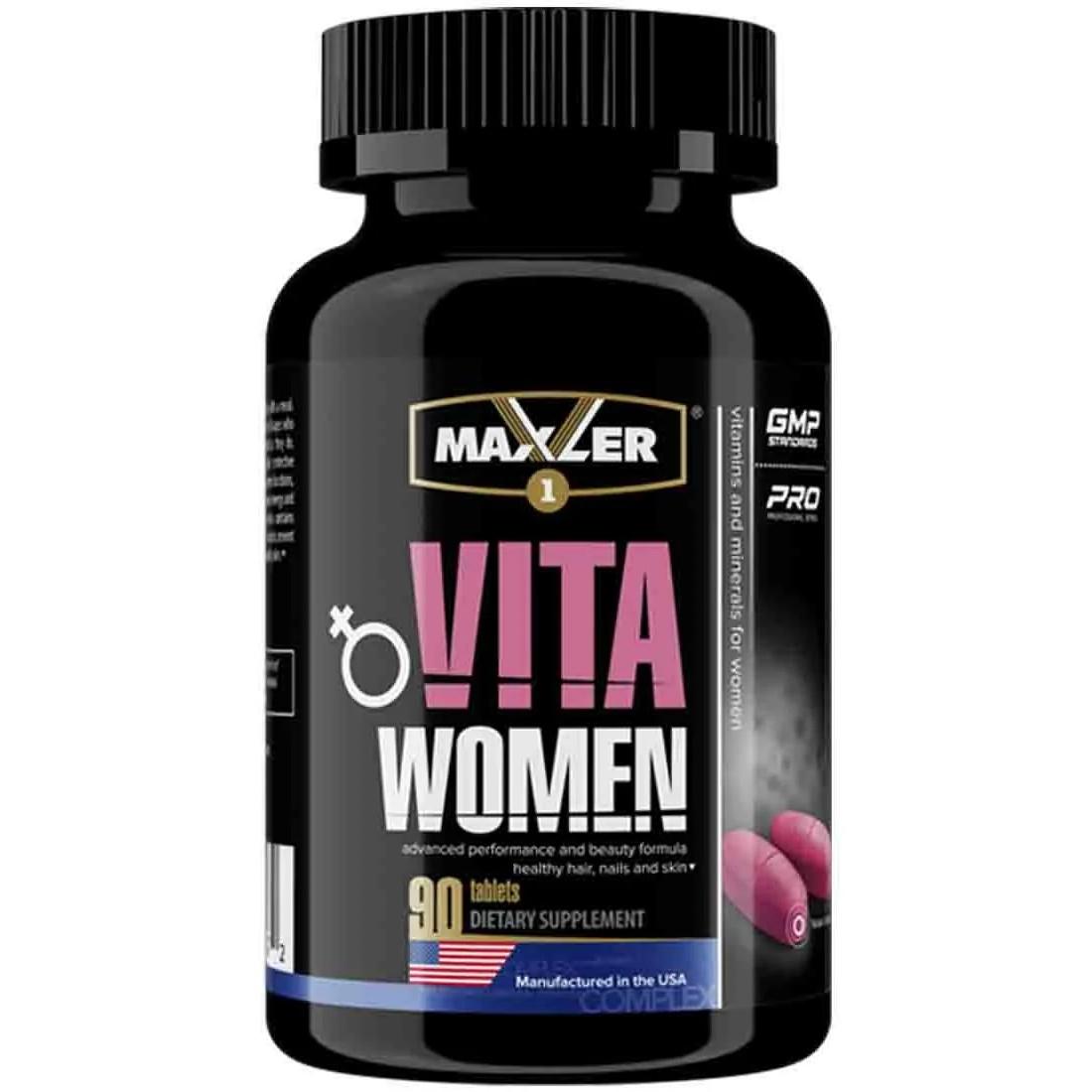 Витаминно минеральный комплекс Maxler VitaWomen 90 таблеток