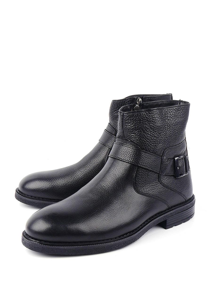Сапоги мужские Longfield BSZ19-805 черные 40 RU