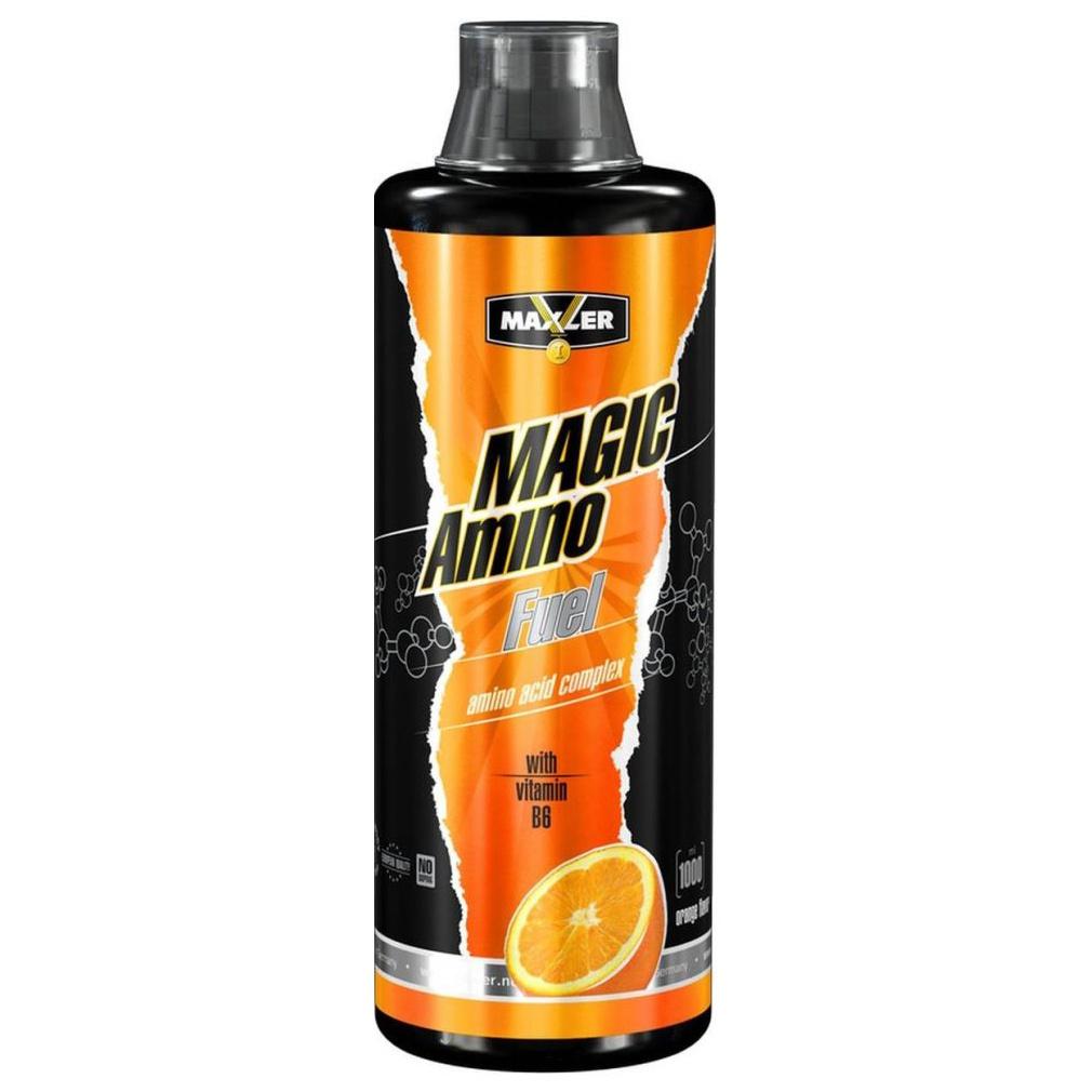 Maxler Amino Magic Fuel 1000 мл апельсин