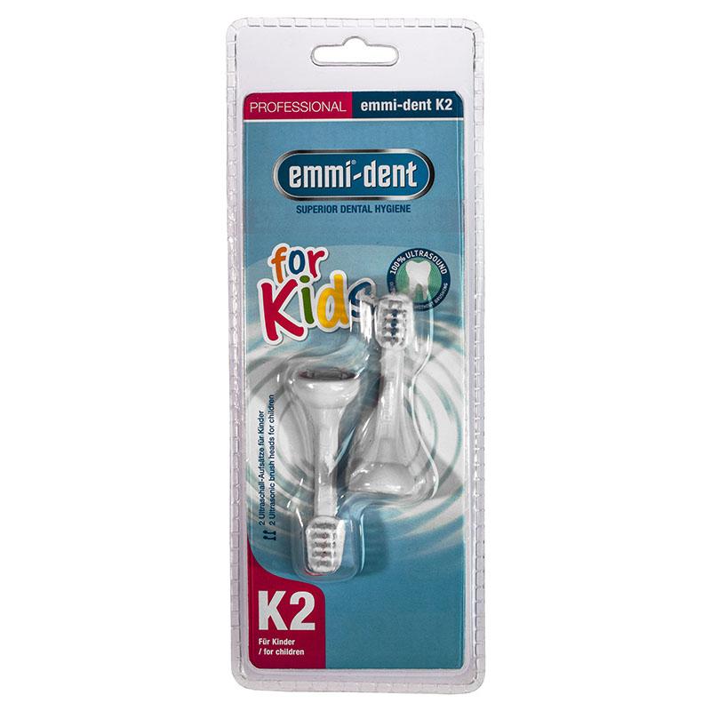 Насадки Emmi Dent Platinum K2 Kids&Ladies мягкие,