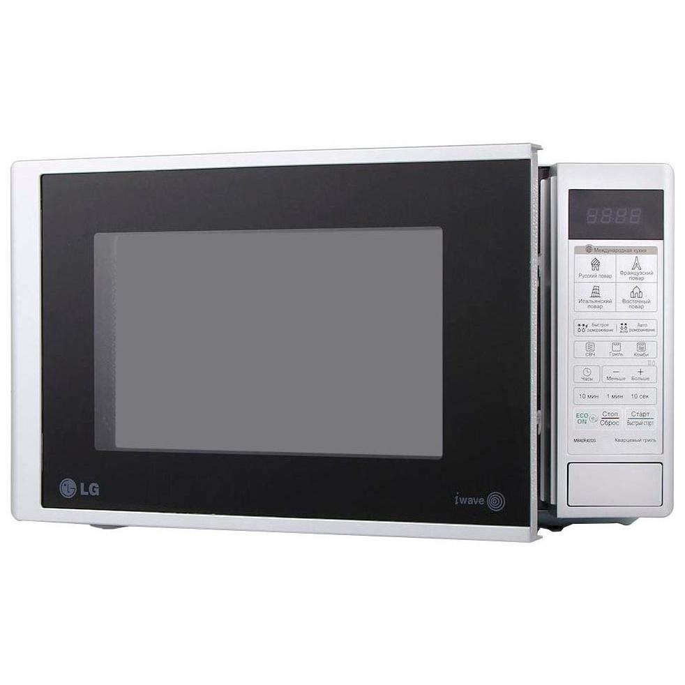 Микроволновая печь соло LG MS20R42D white фото