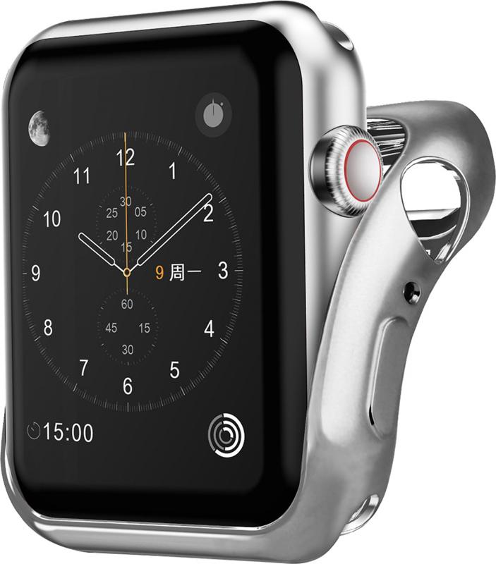 Чехол InterStep для Apple Watch 38mm Silver