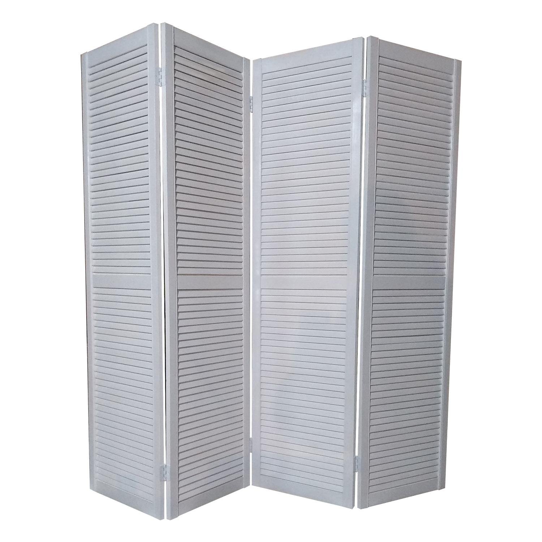 Ширма ДваДома окрашенная белая 180х200 см,
