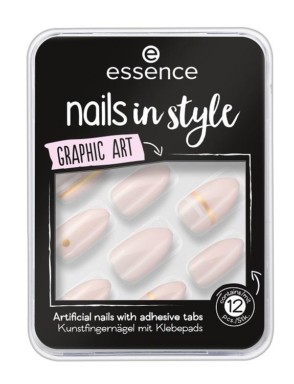 Накладные ногти на клейкой основе essence Nails