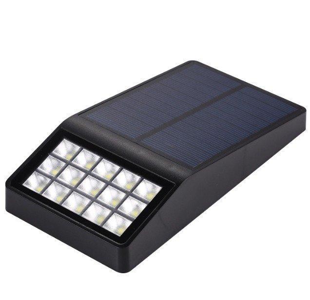 Настенный уличный светильник на солнечной батарее MFCY12