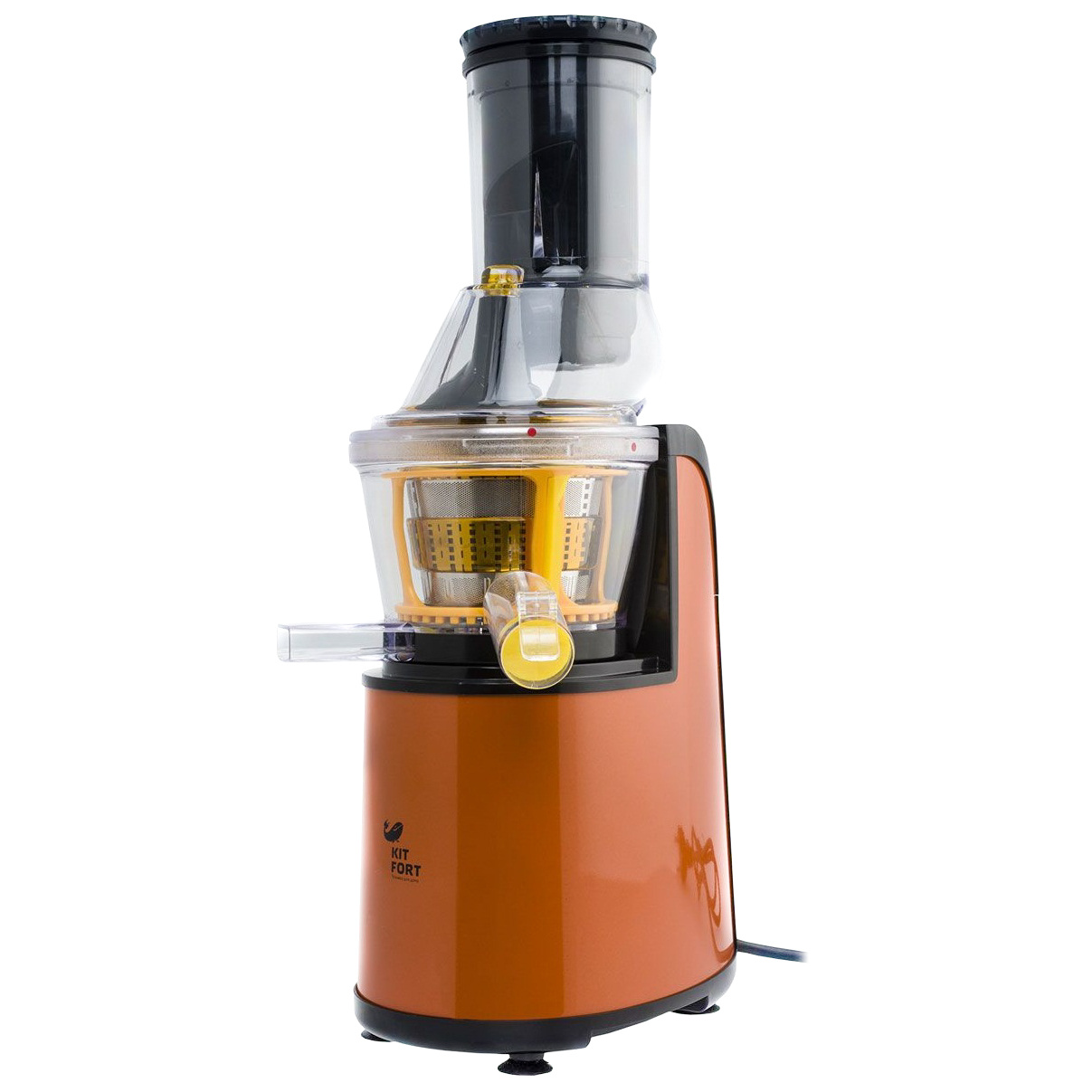 Соковыжималка шнековая Kitfort KT 1102 1 orange