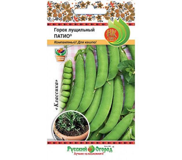 Семена овощей Русский огород 306024 Горох лущильный