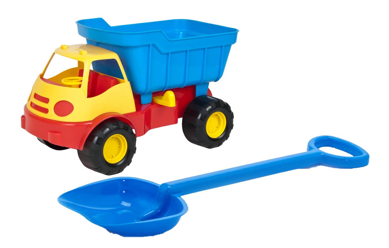 Купить Игровой набор: Автомобиль самосвал ACTIVE (15-5248) + лопатка 50 см. (16-5391), ZEBRATOYS,