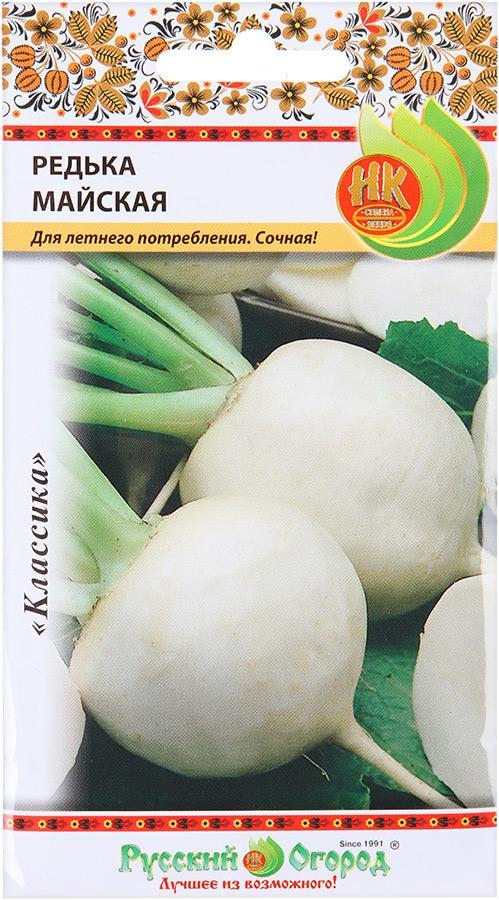 Семена овощей Русский огород 303313 Редька Майская
