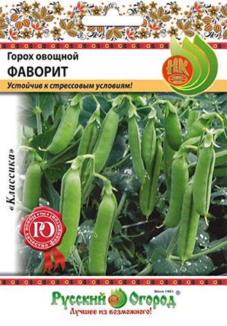 Семена овощей Русский огород Ф16010 Горох сахарный
