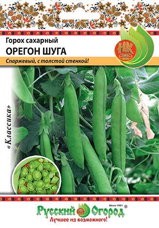 Семена овощей Русский огород Ф16019 Горох сахарный