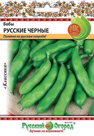 Семена овощей Русский огород Ф16202 Бобы Русские