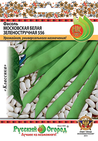 Семена овощей Русский огород Ф16302 Фасоль Московская
