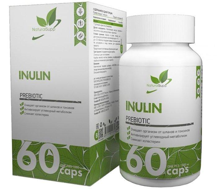 Инулин пребиотик NATURALSUPP Inulin капсулы 60 шт.