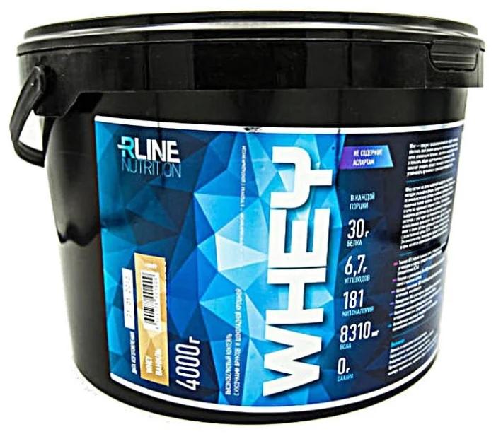 Протеин Rline Whey 4000 г ваниль