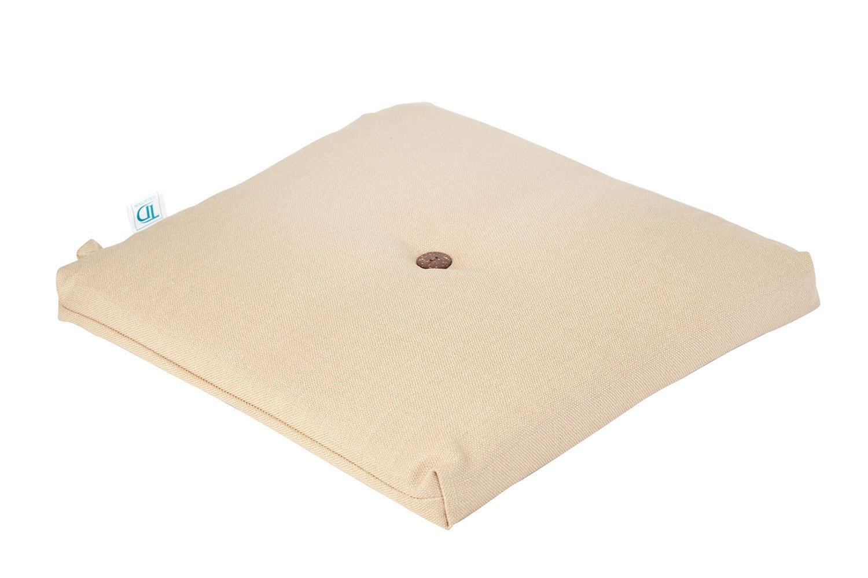 Декоративная подушка сидушка Hoff Лён