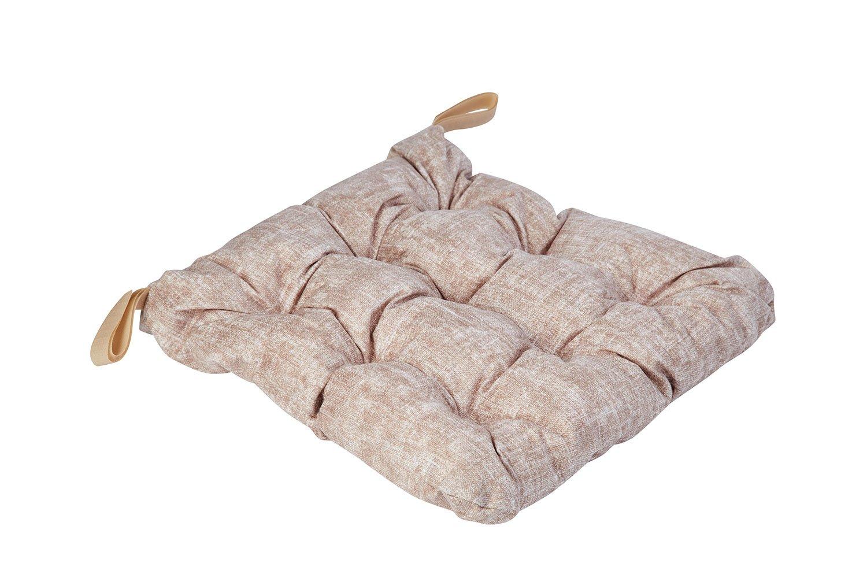 Подушка сидушка с липучками и тафтингом 23rd