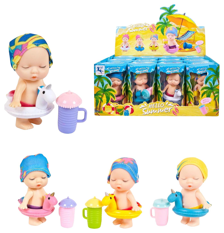 Пупс куколка в коробочке, серия Привет, лето!