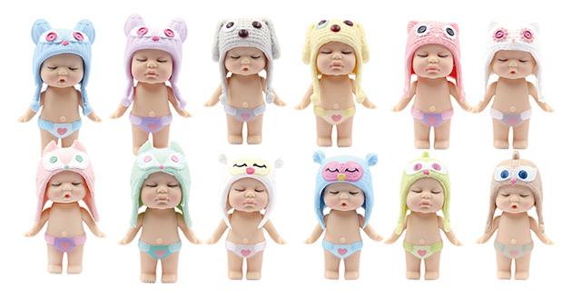 Купить Пупс-куколка в конфетке, серия Baby boutique PT-01066/1 в ассортименте, ABtoys, Пупсы