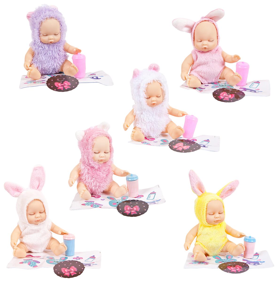Пупс-куколка в конфетке, серия Baby boutique PT-01067/1 в ассортименте, ABtoys, Пупсы  - купить со скидкой