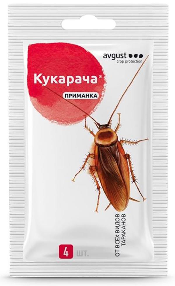 Средство от тараканов Август НК340762 Кукарача приманка