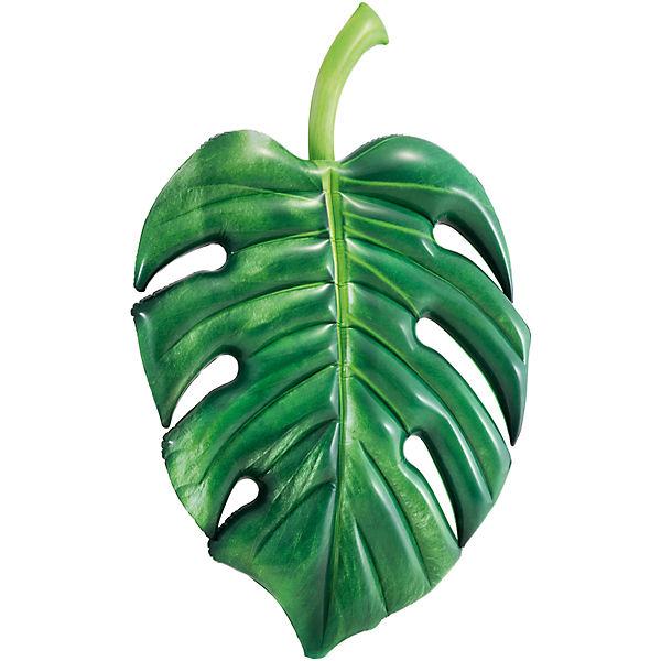 Купить Матрас надувной Пальмовый лист, 213смx142см, INTEX, Надувные матрасы детские для плавания