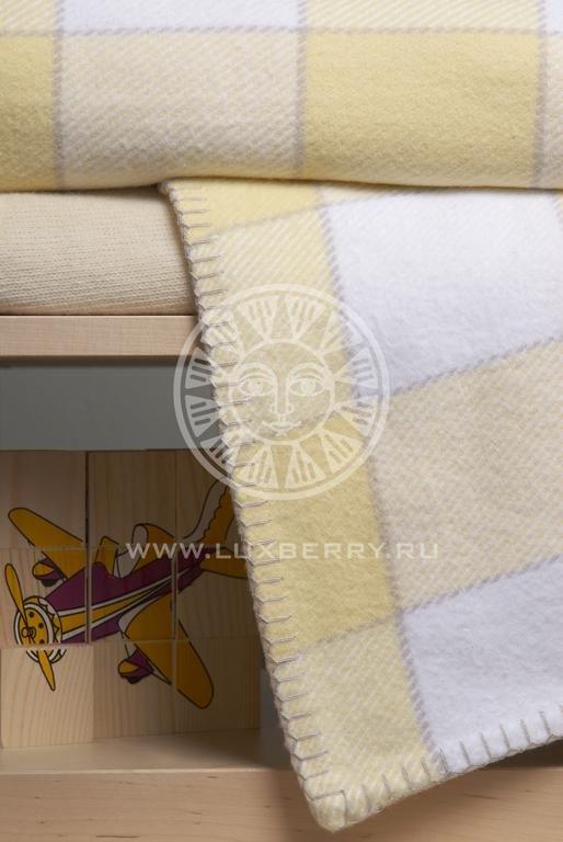 Плед детский LUXBERRY VANESSA желтый 100х150